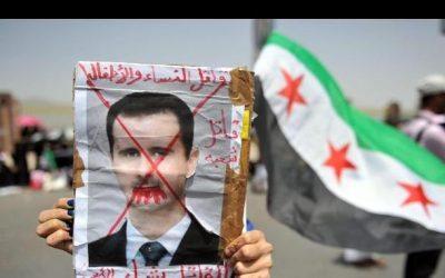 No alla guerra, abbasso Assad