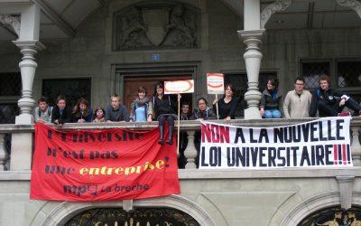 Nuova legge sull'Università a Friborgo