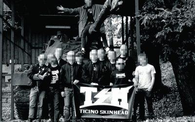 Presenza di gruppi skinhead in Ticino