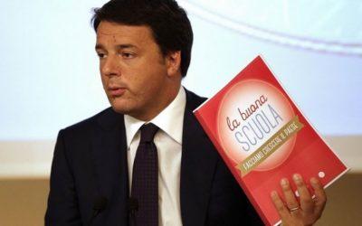 La scuola di Renzi non è buona