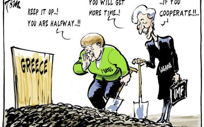 Bernie Sanders, M.Voutsis e la Commissione per la Verità sul Debito Pubblico greco
