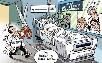 Grecia, ancora su Tsipras dopo lo sciopero