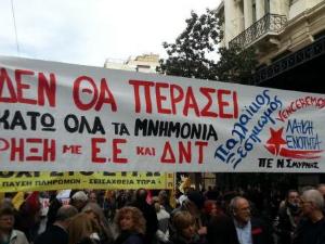 Grecia in sciopero contro il governo di Syriza