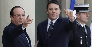 Hollande e Renzi, la parabola social-liberale
