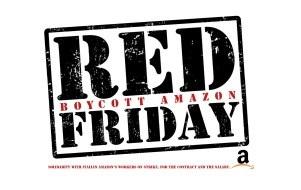 Il Red Friday delle lavoratrici e dei lavoratori di Amazon
