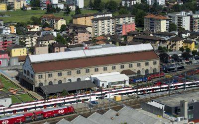 Presentazione del nuovo stabilimento FFS di Castione: ancora e solo aria fritta!!!