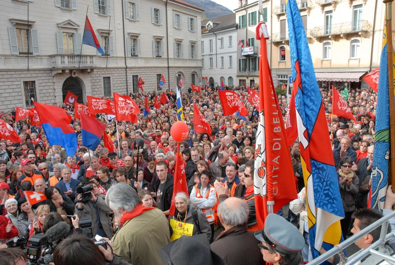 Presa di posizione del coordinamento MPS dopo il voto di Bellinzona