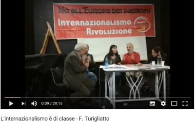 L'internazionalisto è di classe – Franco Turigliatto
