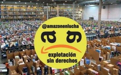 Dalla Spagna l'appello per uno sciopero generale europeo contro Amazon