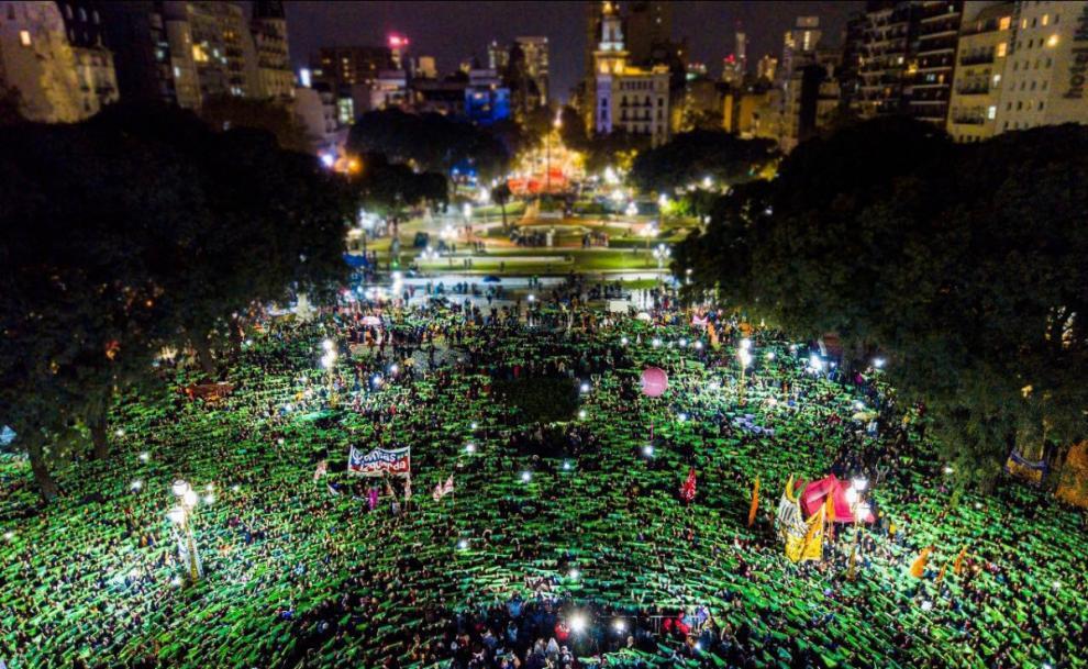 Abbiamo vinto: la lotta delle donne argentine non si ferma
