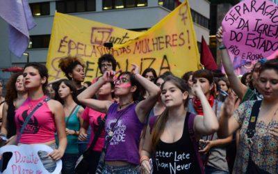 Brasile: una mobilitazione femminista contro Bolsonaro