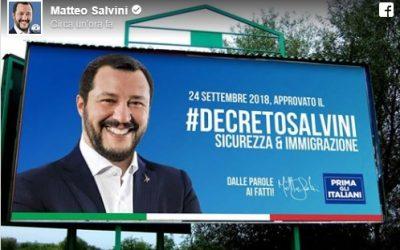 Migranti, con il Dl Salvini il razzismo è istituzionale
