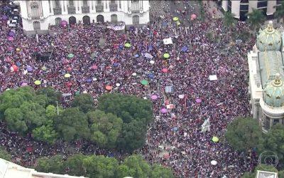 Brasile. Cinque idee sull'importanza della mobilitazione delle donne contro Bolsonaro