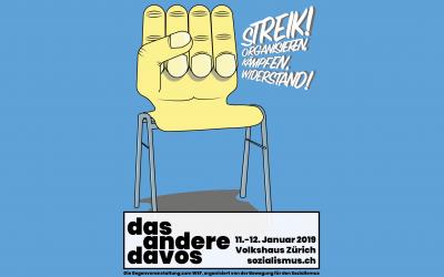 Sciopero! Organizzare, combattere, resistere. Partecipiamo all'Altra Davos