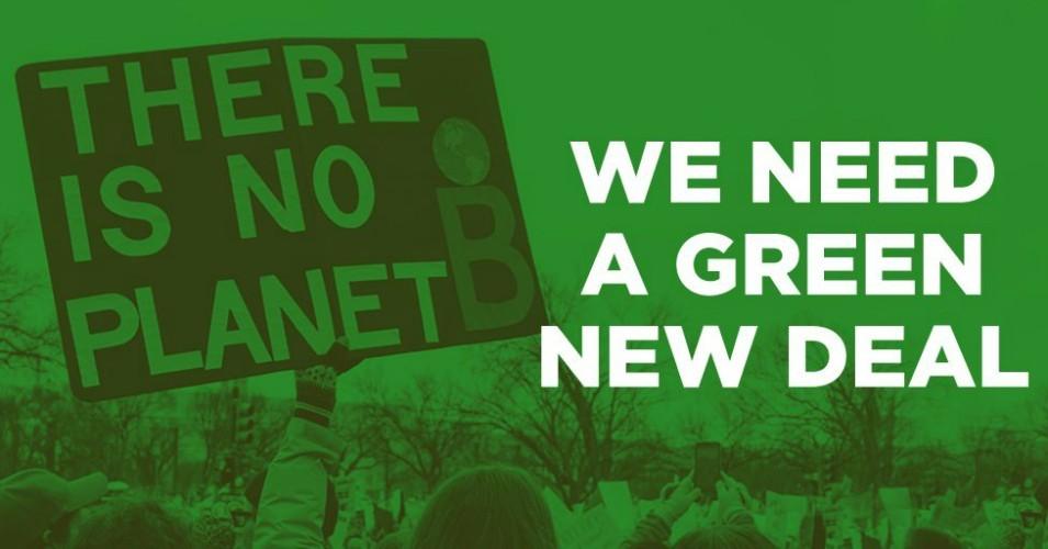 Investire nel Green New Deal come se fossimo in guerra