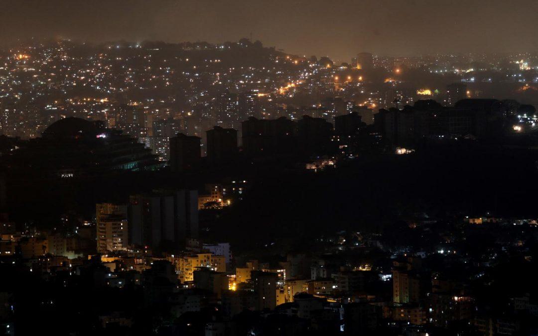 Il black out elettrico: sabotaggio imperialista o crimine boliborghese?