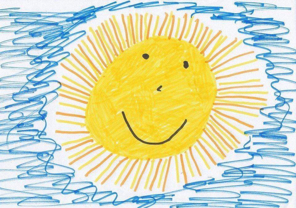 I fiori per crescere hanno bisogno di sole! Nessun bambino deve trascorrere la giornata sottoterra!