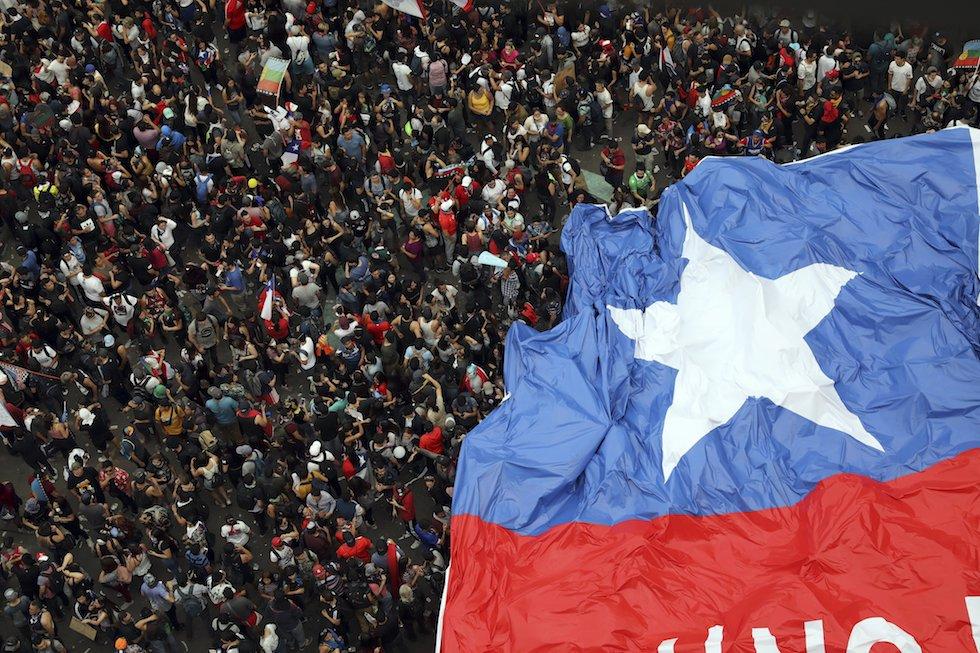 Cile, la speranza di una vita degna