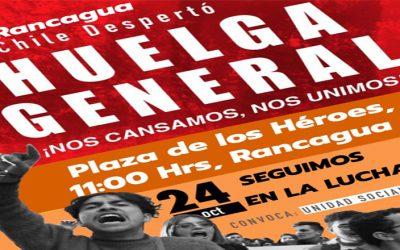 """Cile: """"La classe sta costituendo sé stessa in questo processo"""""""