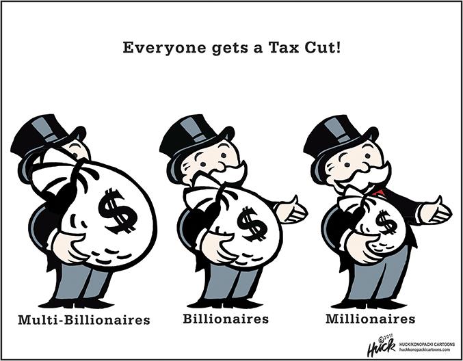 Una riforma fiscale al servizio del profitto