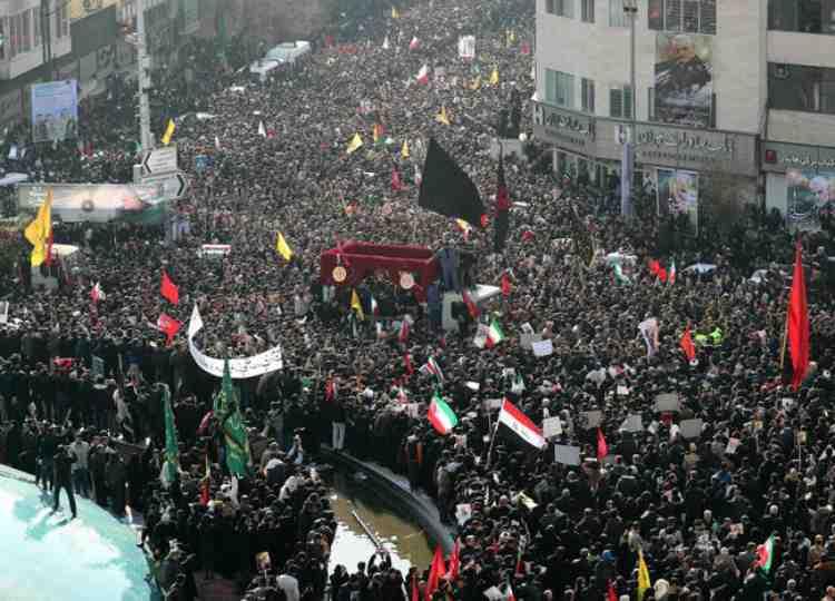 Assassinio del generale Soleimani: contro l'imperialismo degli Stati Uniti e dei suoi alleati, in solidarietà con i popoli oppressi