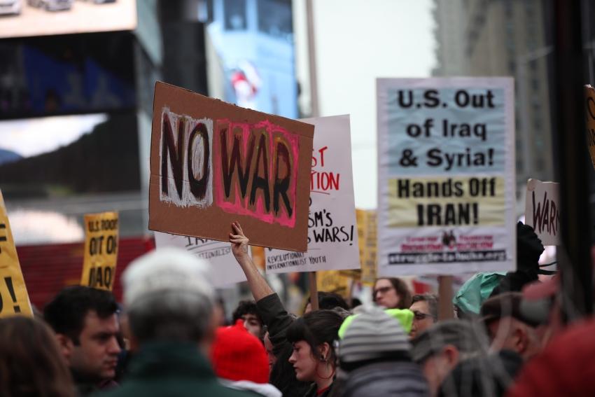 Per un nuovo movimento contro la guerra negli Usa