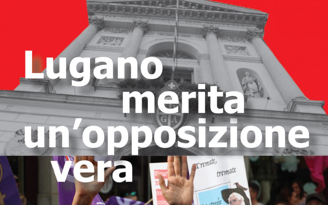 Materiale elezioni Lugano