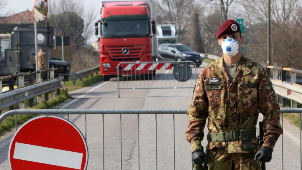 Il virus e la militarizzazione delle crisi