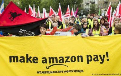 """Amazon: """"Pensi di essere potente? Ma siamo noi che abbiamo il potere"""". Lettera a Jezz Bezos"""