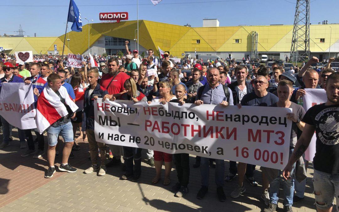 La radici della crisi bielorussa