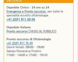 Chiusura del Pronto Soccorso dell'Ospedale italiano: come diceva Andreotti a pensare male degli altri si fa peccato…ma spesso ci si indovina!