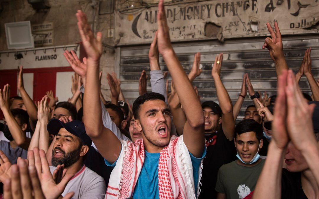 Gerusalemme: la porta di Damasco, epicentro della rivolta palestinese