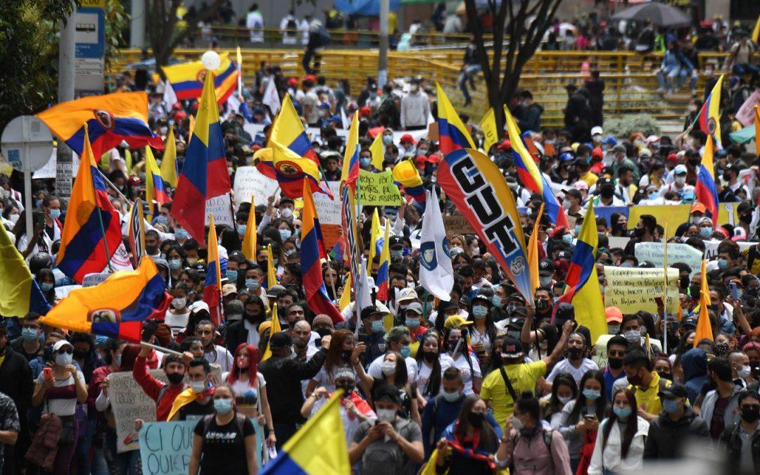 Colombia. Un'esplosione sociale a misura della crisi