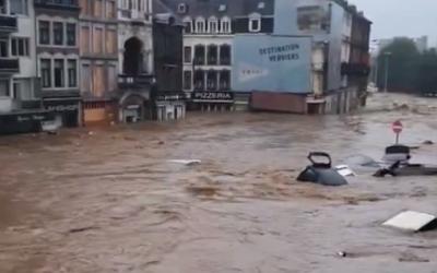 Inondazioni in Belgio, Germania e Paesi Bassi: non è un disastro naturale!