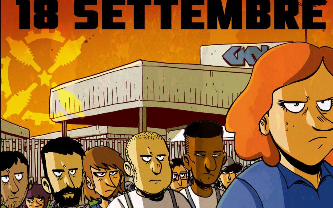 Contro l'assalto al lavoro, tutte/i a Firenze il 18 settembre!